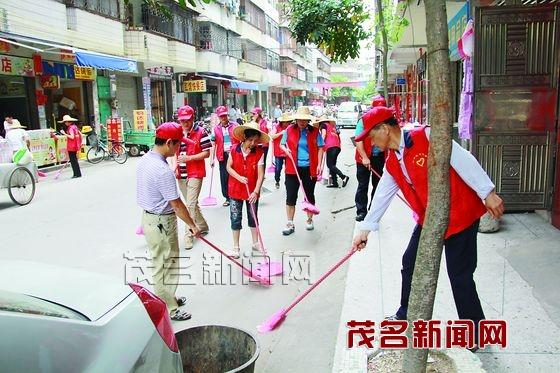 新坡整治城乡环境